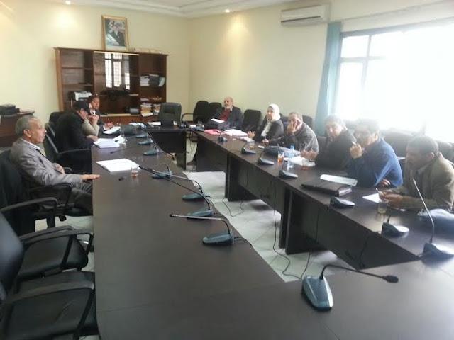 لقاء المكتب الوطني للجامعة الوطنية للتعليم مع مديرية الموارد البشرية لوزارة التربية ودراسة عدة قضايا