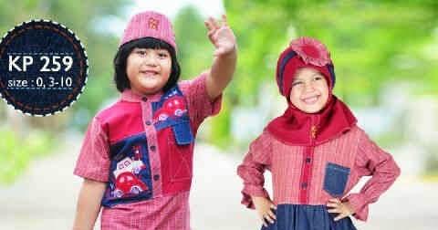 30 Model Baju Muslim Keke Anak Laki Laki Dan Perempuan