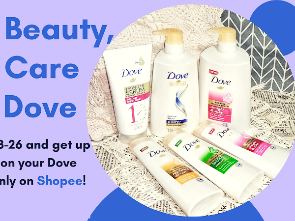 Real Beauty, Real Care with Dove on Shopee!