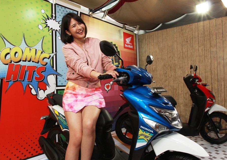 AHM mengadakan program BeAT Pesta 10 Juta untuk merayakan penjualan Honda Beat yang tembus 10 Juta unit