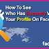 How to See whos Looking at Your Facebook Profile