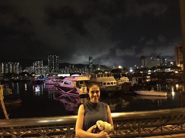 Muelle en Hong Kong
