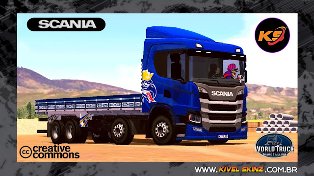 SCANIA P320 - GRIFFIN EDITION