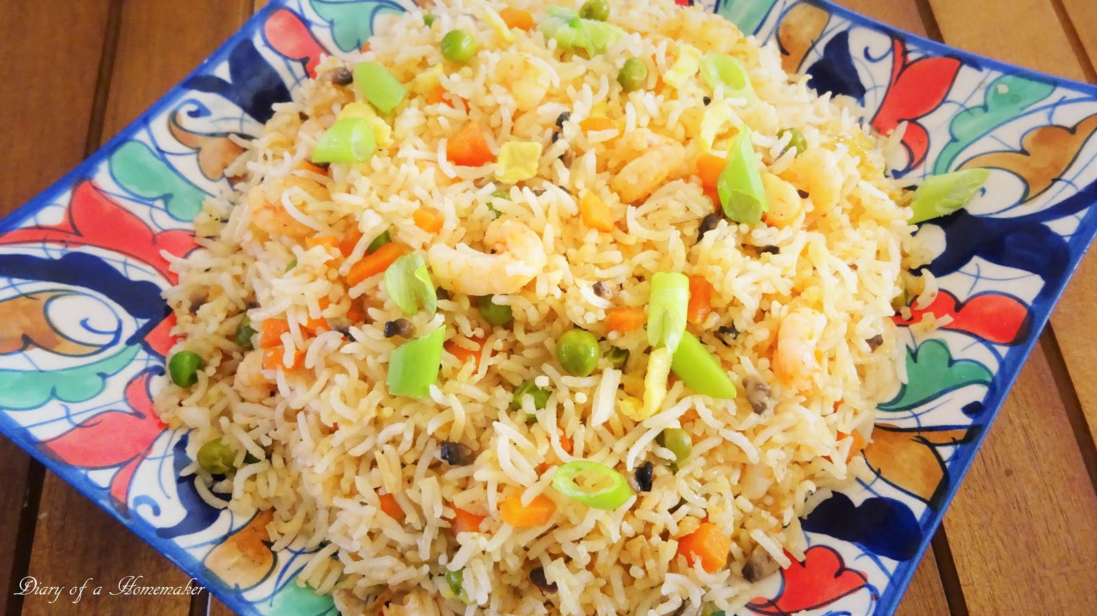 Indian food recipes indian recipes desi food desi recipes prawn stir fried rice easy quick one pot forumfinder Images