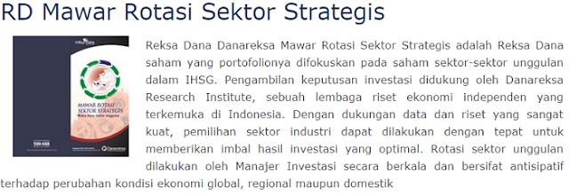 Danareksa Mawar Rotasi Sektor Strategis