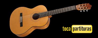 Vals de Guitarra Clásica Fácil Partitura para guitarra principiantes en Sol Mayor Vals con guitarra por diegosax