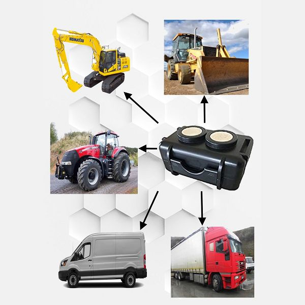 Il GPS per macchine agricole in condizioni metereologiche estreme