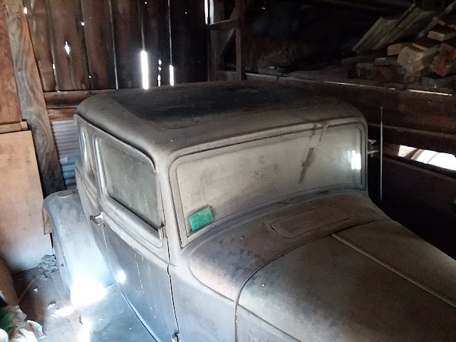 32 Ford 5W Coupe Barn Find