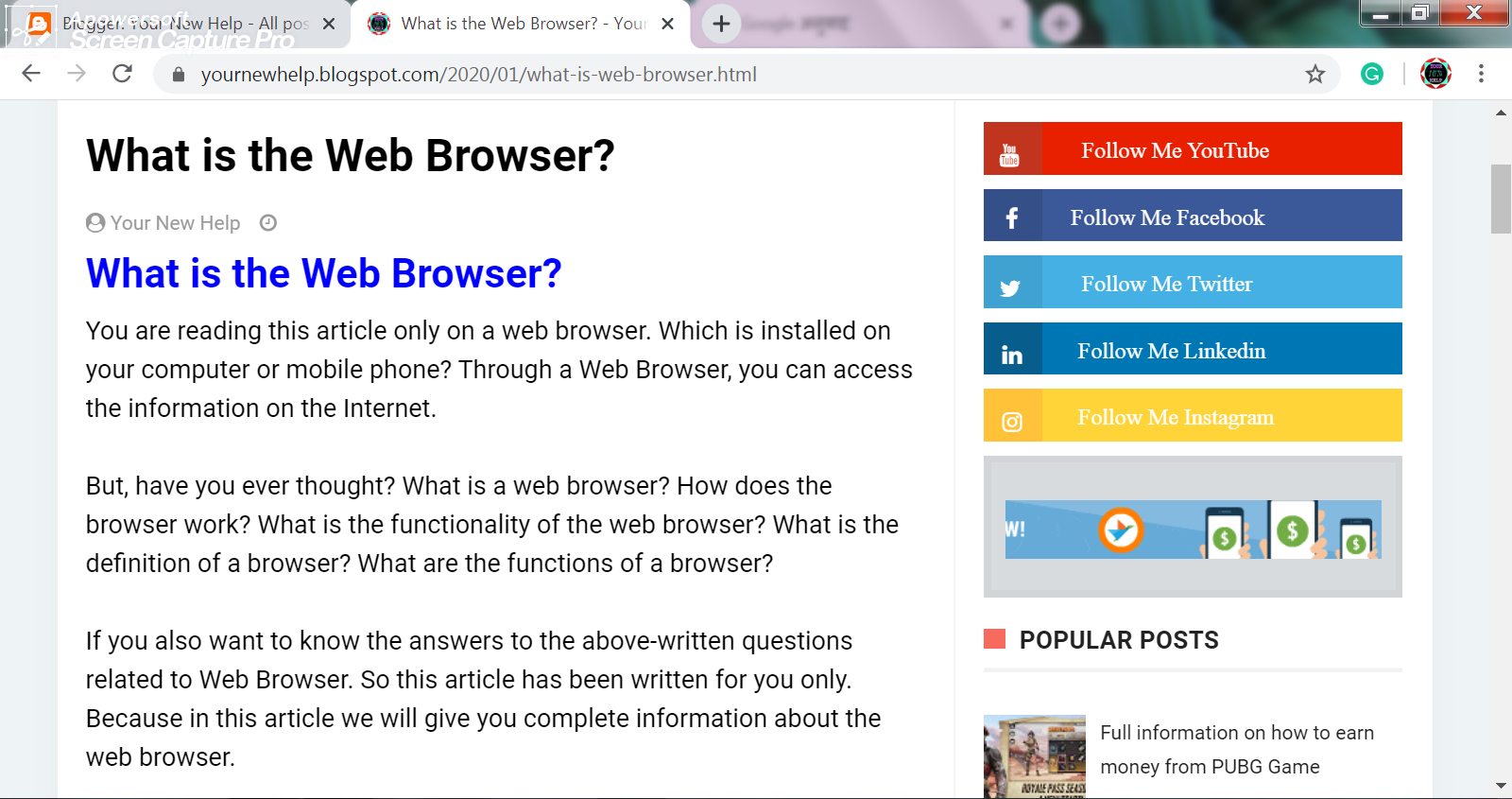 how to program a web browser