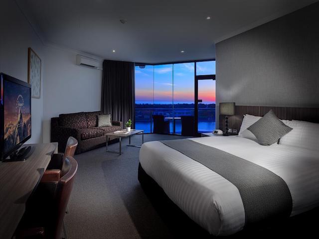 Hotel The Lake Resort em Vilamoura - Algarve  - quarto
