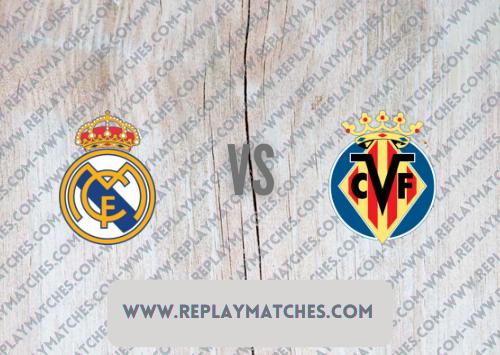 Real Madrid vs Villarreal -Highlights 25 September 2021