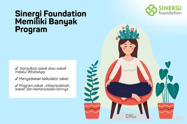 Sinergi Foundation Website Zakat Online Terpercaya
