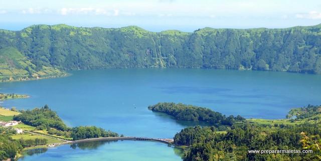 Lagoa Azul y Lagoa Verde imprescindible Azores