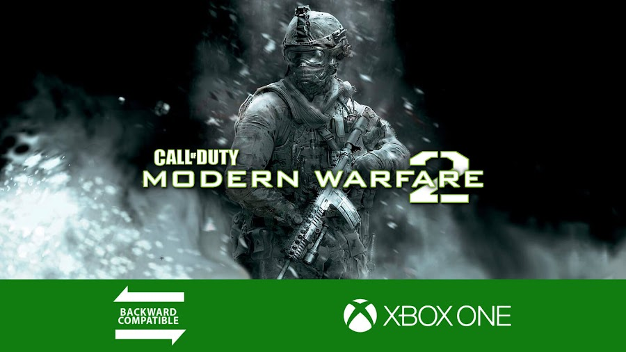 call of duty modern warfare 2 backward compatible xbox one first-person shooter game infinity ward activision