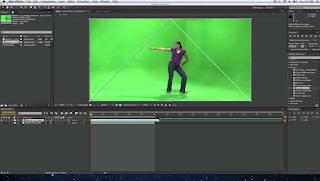 background green screen