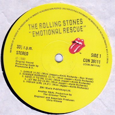 Rolling Stones Emotional Rescue Rar - bertylforfree
