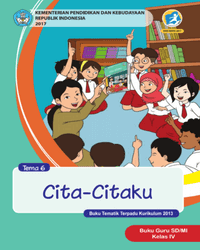 Buku tema 6 Guru Kelas 4 k13 2017