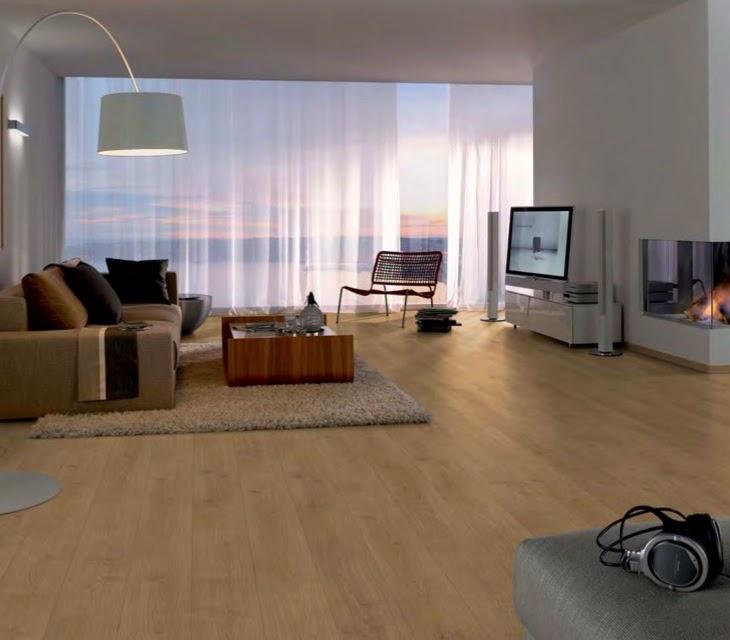 Desain Lantai Kayu Karpet Vinyl Rumah Minimalis Modern