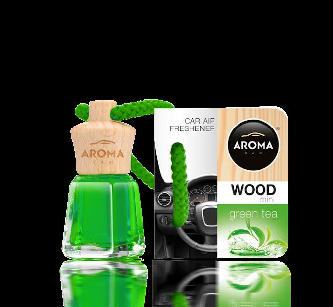 Aroma Car Wood - Green tea