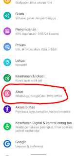 Cara Menghapus Salah Satu Akun Gmail Di Android
