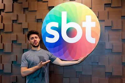 Oscar Filho assinou hoje contrato com o SBT. Crédito: Lourival Ribeiro/SBT