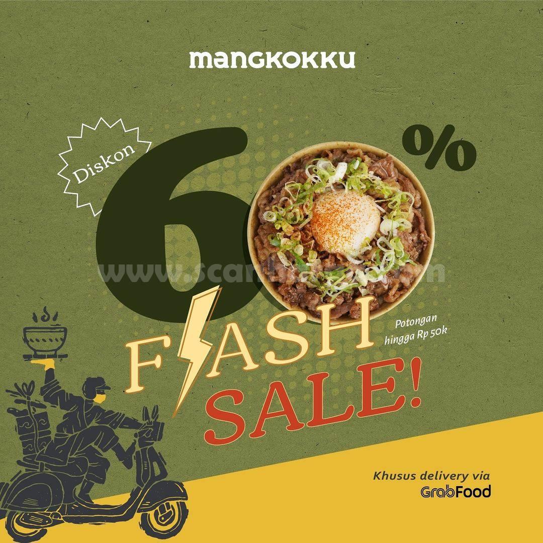 Promo MANGKOKKU GRABFOOD FLASH SALE - Diskon hingga 60%
