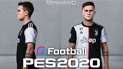 PES 2020 Faces Paulo Dybala by Alief