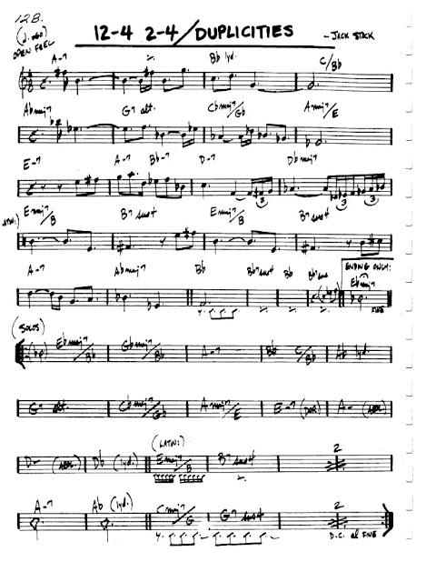 Partitura Flauta Jack Stock