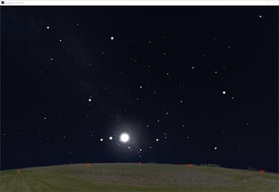 Stellarium sky