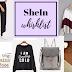 I LOVE FALL | SHEIN WISHLIST