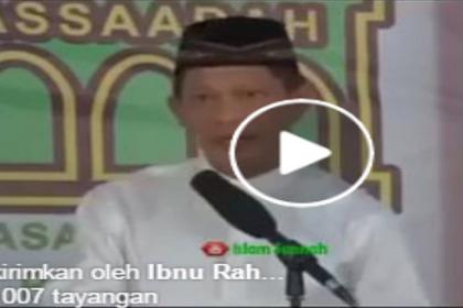Sebelum Berada di Ring 1, Tito: FPI Ormas Islam yang Sangat Toleran