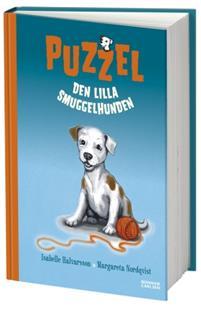 """Omslag """"Puzzel, den lilla smuggelhunden"""" från Adlibris"""