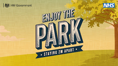 Enjoy the park 2m apart