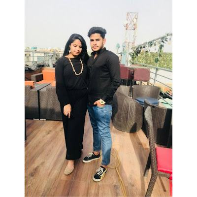 Chhavi Mathur and Aman Kaushik
