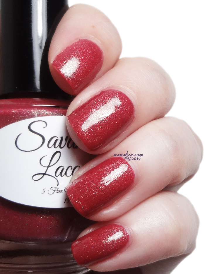 xoxoJen's swatch of Savannah Lacquer  - Take Me Apple Picking
