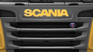 Scania R Painted Logo