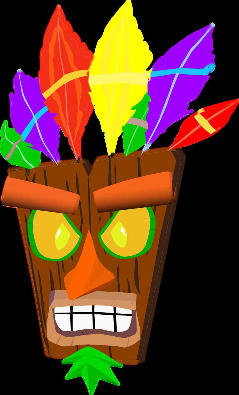 Crash Bandicoot Mask 75