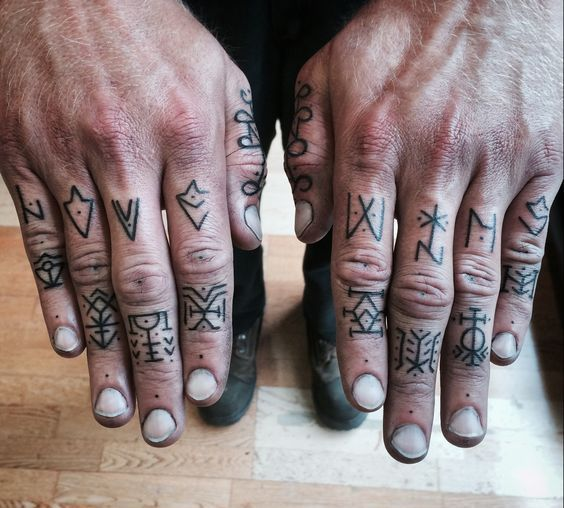 Finger tattoos ideas for men