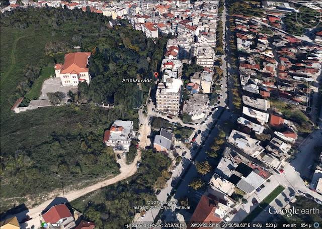 Ιωάννινα: Ασφαλτοστρώνεται η οδός Απολλωνίας στο λόφο Βελισσαρίου