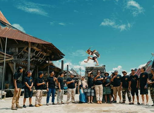 Lompat Batu,Tradisi Budaya Iconik Dari Suku Nias