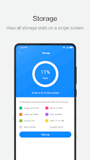 File Manager By Xiaomi Release File Storage Space [ Review