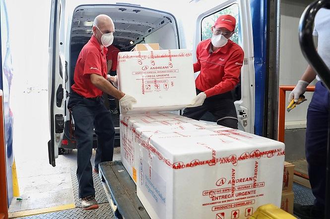 26.100 dosis del componente 2 de Sputnik llegaron a Mendoza