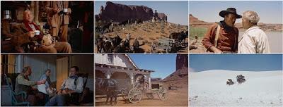Centauros del desierto: John Ford con John Wayne, Natalie Wood, Jeffrey Hunter y Ward Bond