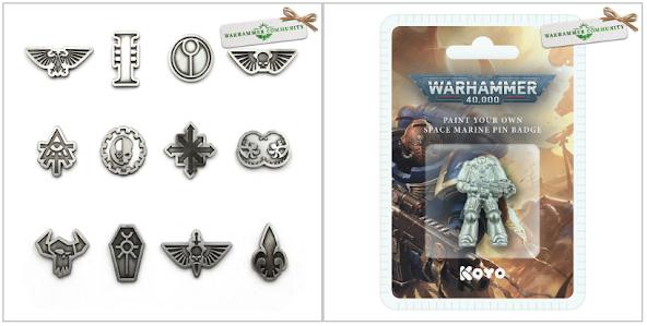 pins Warhammer 40,000
