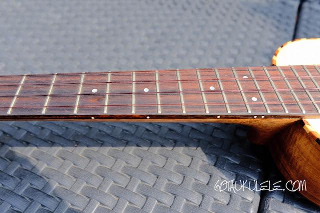 Millar SP-210LL Ukulele fingerboard