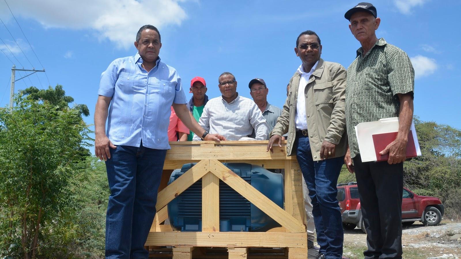 Compromiso cumplido: productores de mango de Villa Fundación reciben motor de mayor capacidad