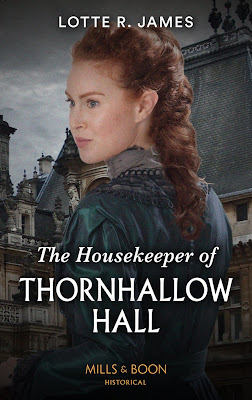 The Housekeeper of Thornhallow Hall book cover Mills & Boon historical