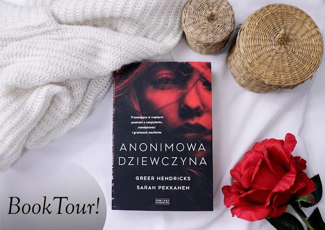 """Book tour z """"Anonimową dziewczyną""""!"""