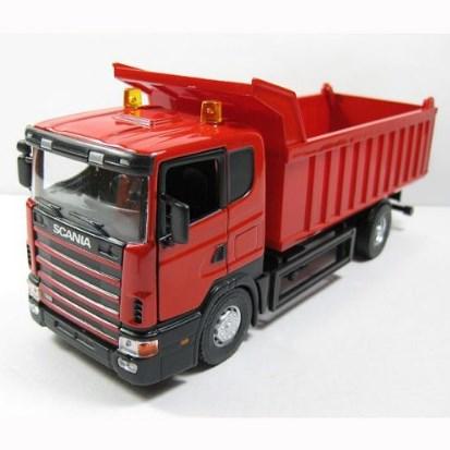truk scania miniatur