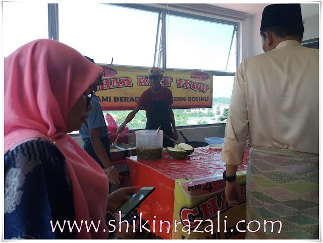 Jamuan hari raya Bahagian Pengurusan dan Unit Integriti